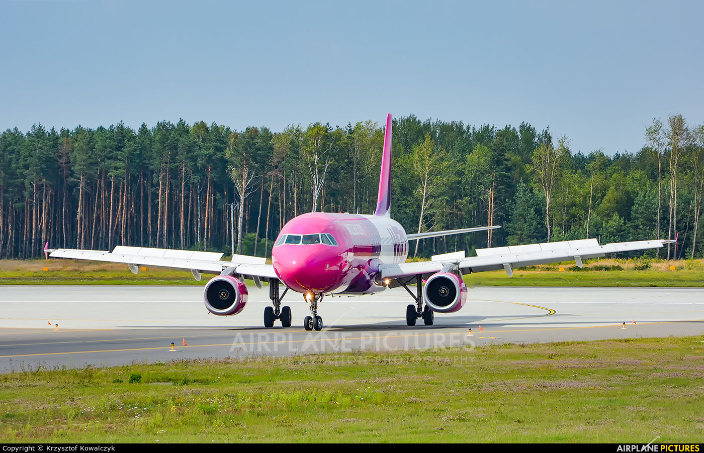 Wizz Air HA-LWK aircraft at Katowice - Pyrzowice