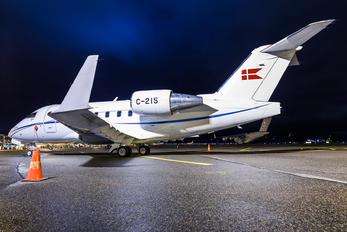 C-215 -  Canadair CL-600 Challenger 601