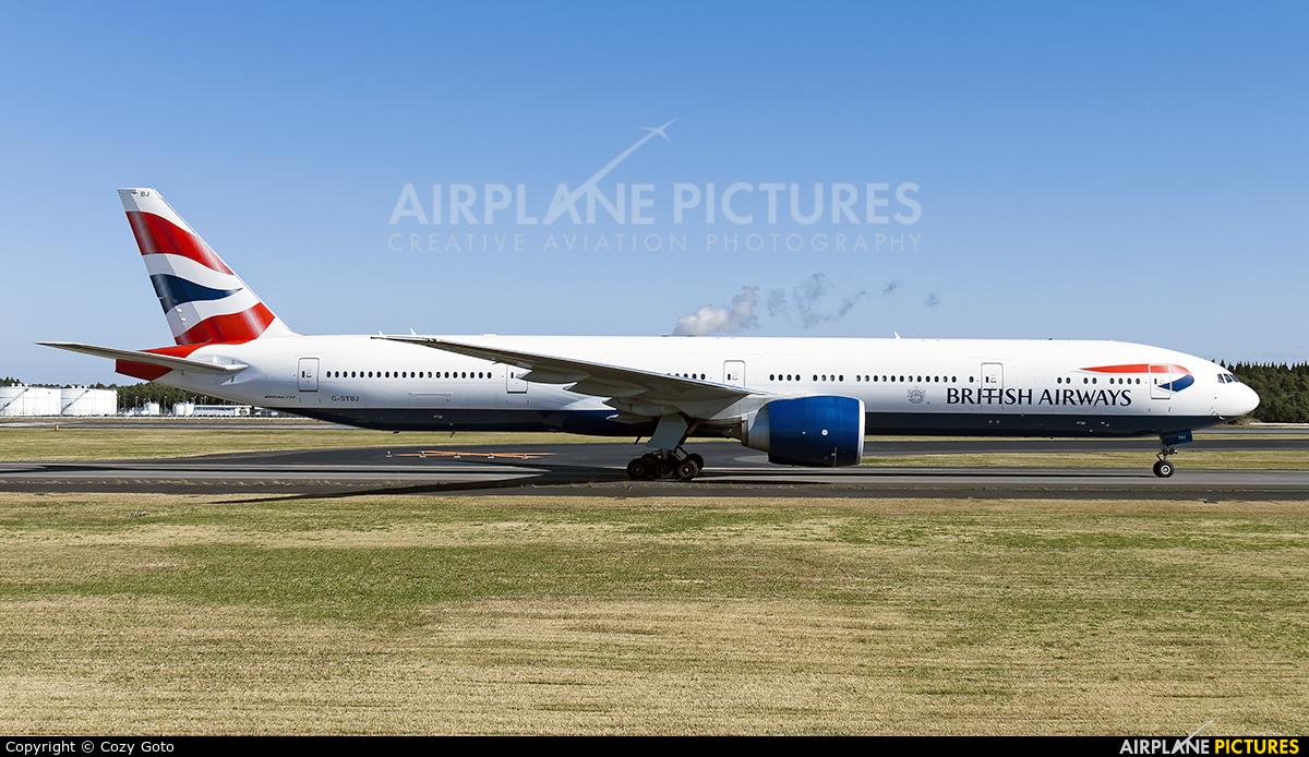 British Airways G-STBJ aircraft at Tokyo - Narita Intl