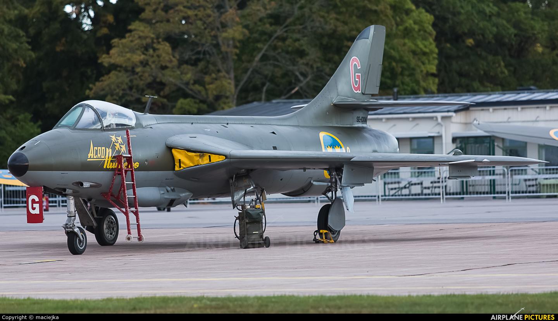 Swedish Air Force Historic Flight SE-DXM aircraft at Malmen