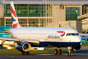 G-EUXK - British Airways Airbus A321