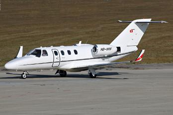 HB-VPF - Private Cessna 525 CitationJet
