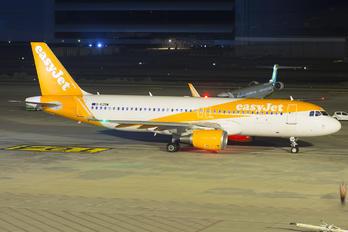 G-EZOW - easyJet Airbus A320