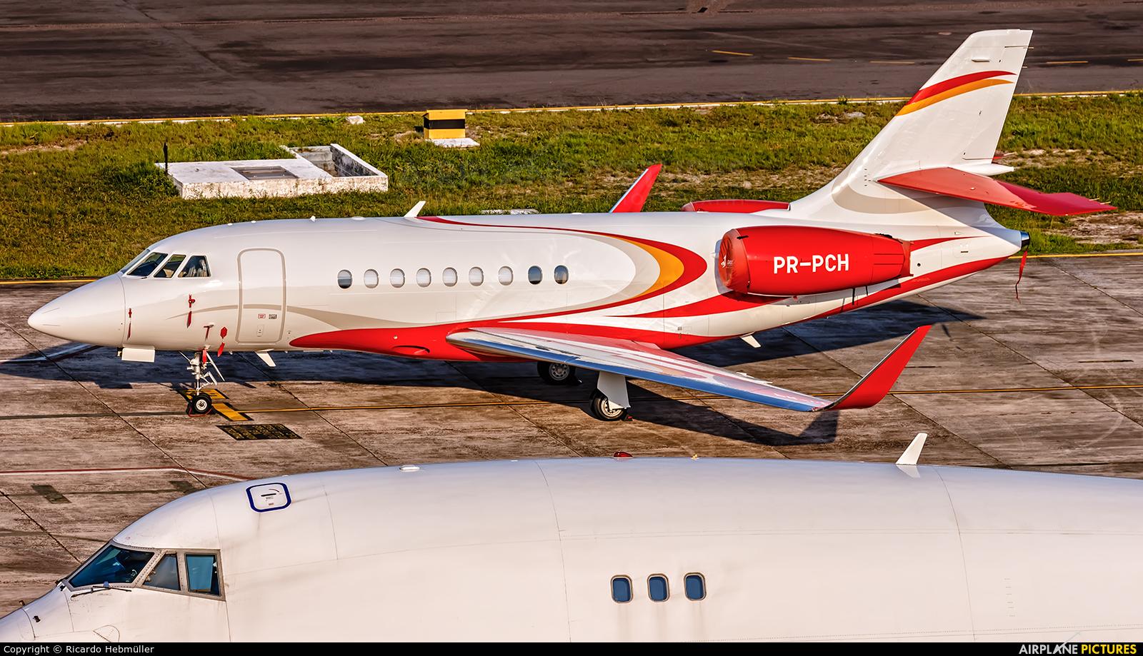 Private PR-PCH aircraft at Manaus - Eduardo Gomes