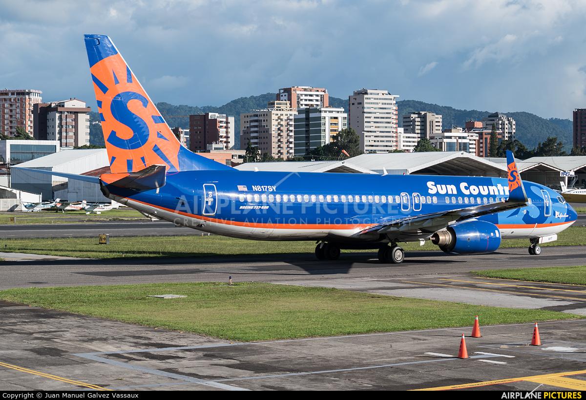 Sun Country Airlines N817SY aircraft at Guatemala - La Aurora