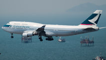 B-HKT - Cathay Pacific Boeing 747-400 aircraft
