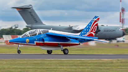 "F-TERR - France - Air Force ""Patrouille de France"" Dassault - Dornier Alpha Jet E"