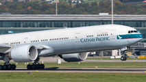 B-KQW - Cathay Pacific Boeing 777-300ER aircraft