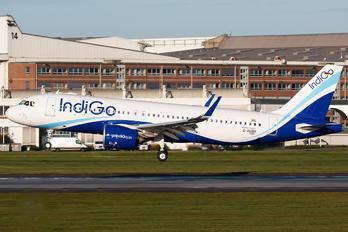 D-AUBR - IndiGo Airbus A320