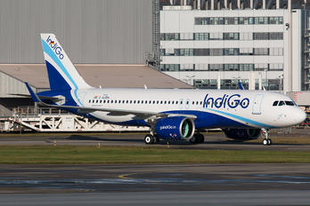 D-AUBN - IndiGo Airbus A320 NEO