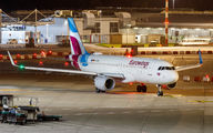 D-AEWT - Eurowings Airbus A320 aircraft