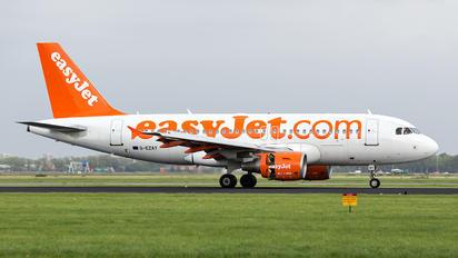 G-EZAY - easyJet Airbus A319