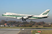 N488EV - Evergreen International Boeing 747-200 aircraft