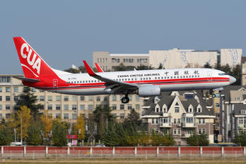 B-1753 - China United Airlines Boeing 737-800