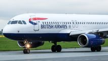 G-EUUN - British Airways Airbus A320 aircraft