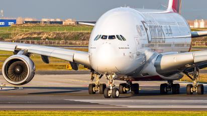 A6-EOZ - Emirates Airlines Airbus A380