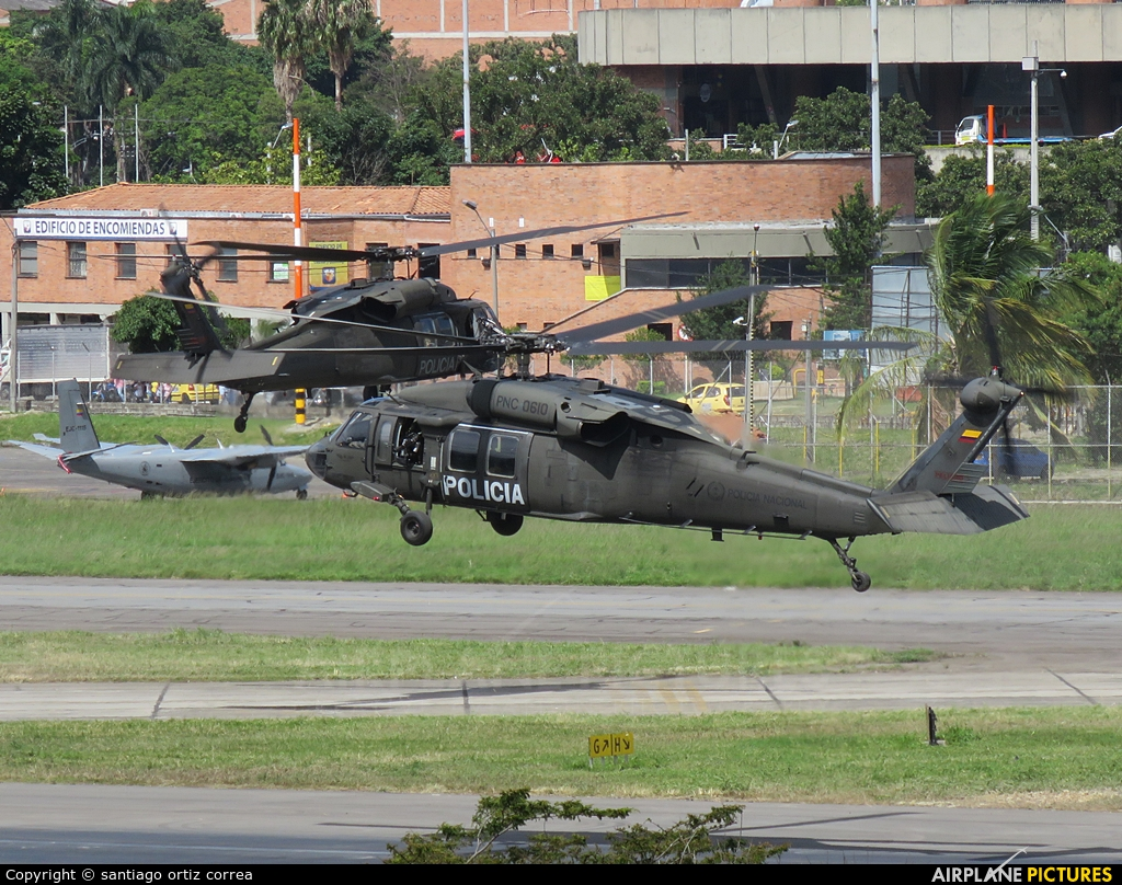 Colombia - Police PNC-0610 aircraft at Medellin - Olaya Herrera