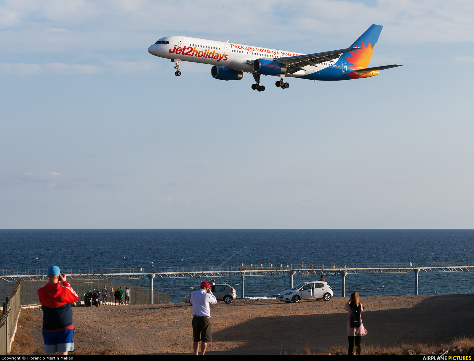 - Airport Overview G-LSAG aircraft at Lanzarote - Arrecife