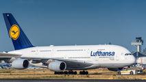 D-AIMN - Lufthansa Airbus A380 aircraft