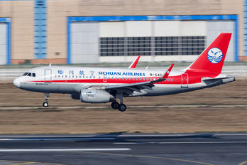 B-6453 - Sichuan Airlines  Airbus A319