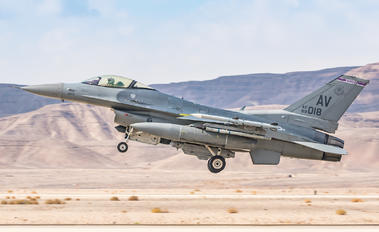 2018 - USA - Air Force Lockheed Martin F-16C Fighting Falcon