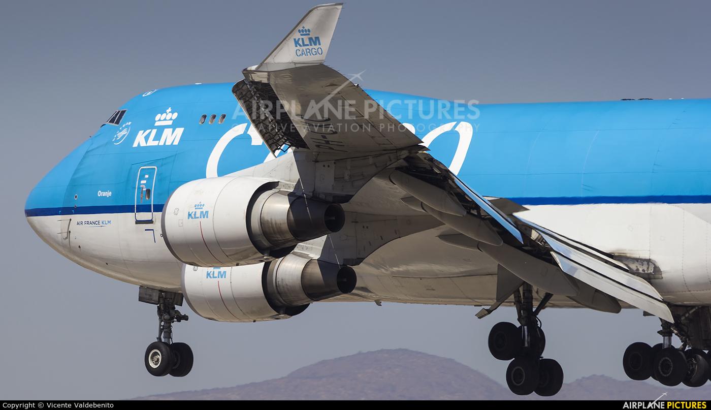 KLM Cargo PH-CKC aircraft at Santiago de Chile - Arturo Merino Benítez Intl