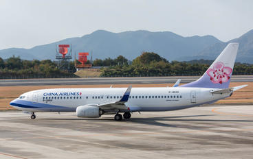 B-18666 - China Airlines Boeing 737-800