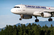 TC-JUK - Turkish Airlines Airbus A320 aircraft