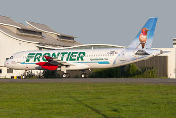 F-WWDR - Frontier Airlines Airbus A320