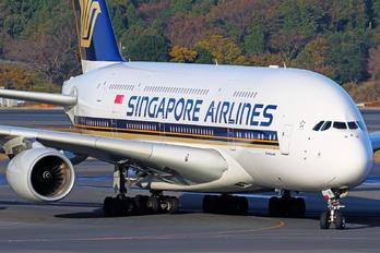 9V-SKI - Singapore Airlines Airbus A380