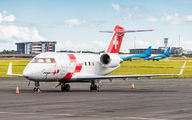 HB-JRA - REGA Swiss Air Ambulance  Canadair CL-600 Challenger 604 aircraft