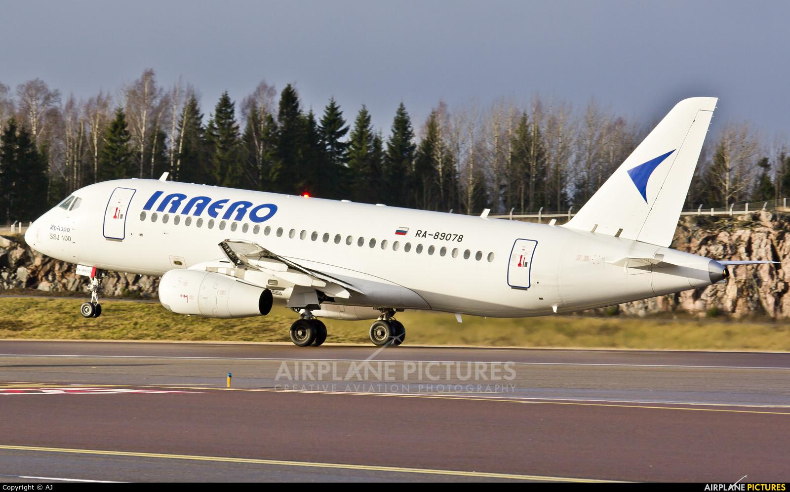 Iraero RA-89078 aircraft at Helsinki - Vantaa