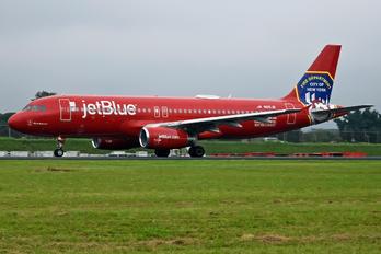 N615JB - JetBlue Airways Airbus A320