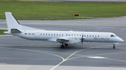 HB-IZS - Sky Work Airlines SAAB 2000