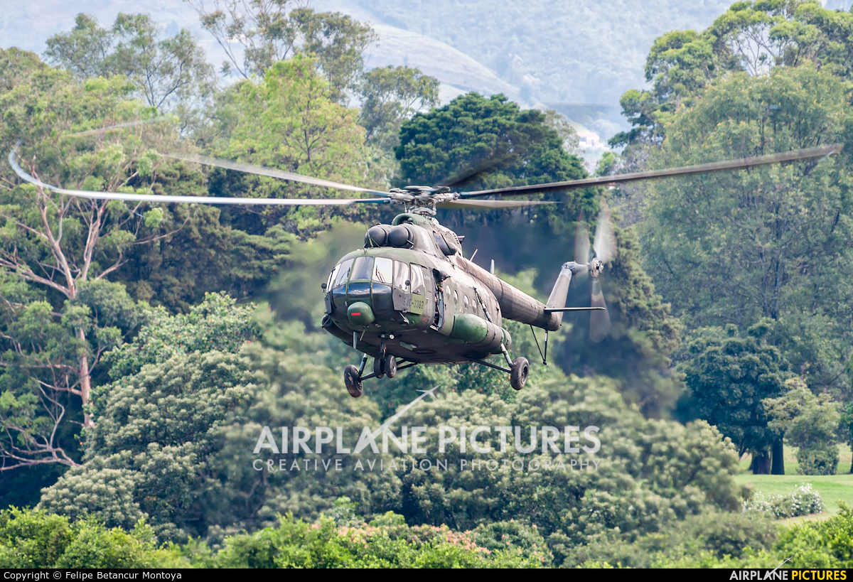 Colombia - Army EJC-3382 aircraft at Medellin - Olaya Herrera