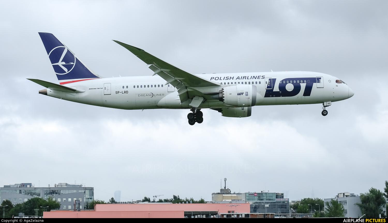 LOT - Polish Airlines SP-LRD aircraft at Warsaw - Frederic Chopin