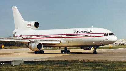G-CEAP - Caledonian Airways Lockheed L-1011-50 TriStar