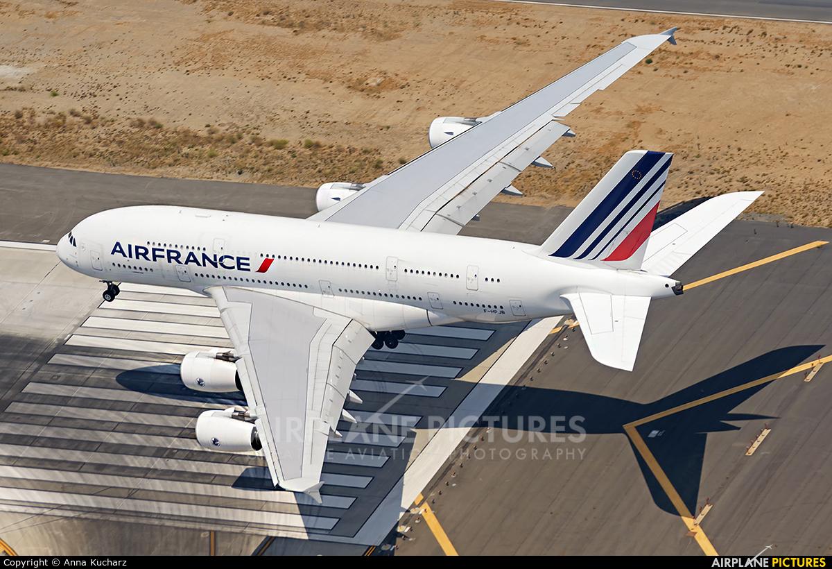 Air France F-HPJB aircraft at Los Angeles Intl