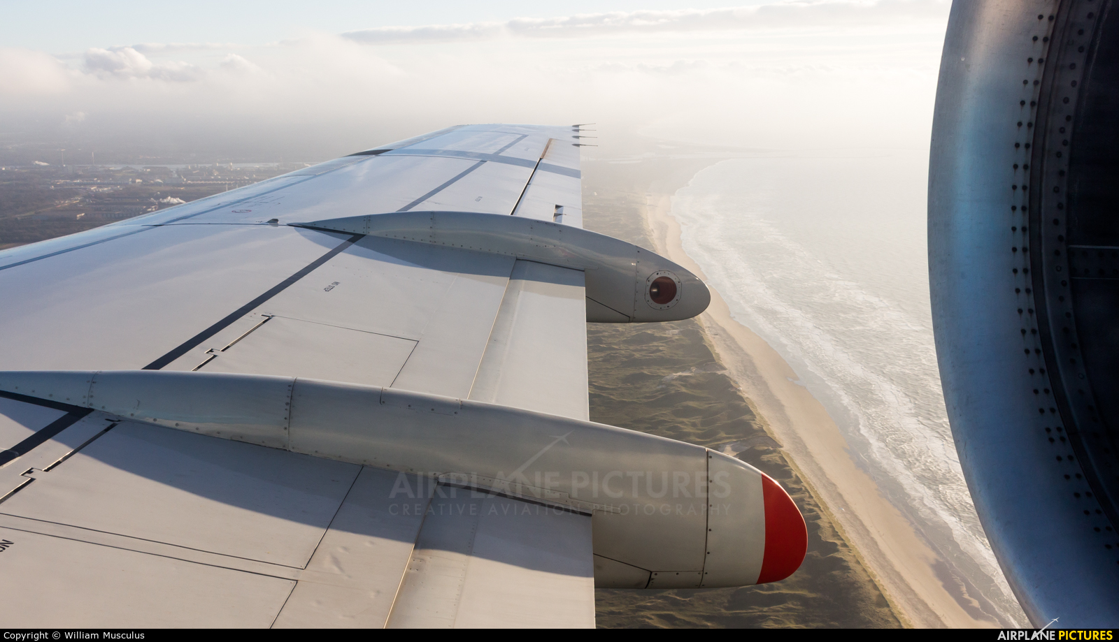 KLM Cityhopper PH-KZS aircraft at Off Airport - Netherlands