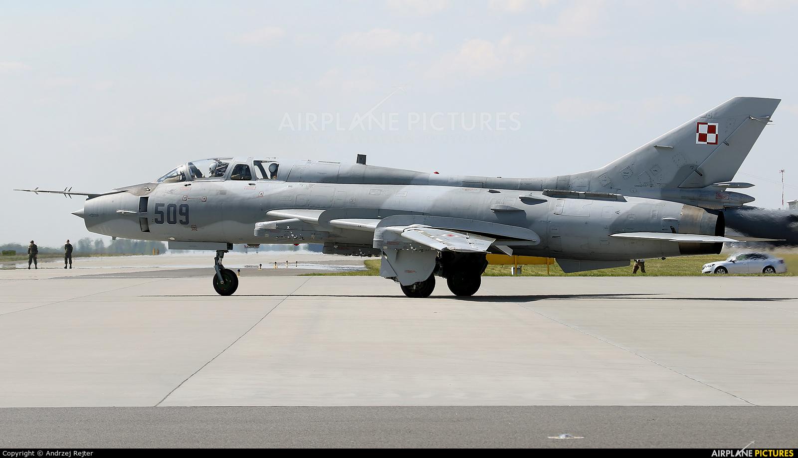 Poland - Air Force 509 aircraft at Powidz