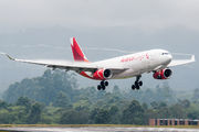 First Airbus A330-200F for Avianca Cargo title=