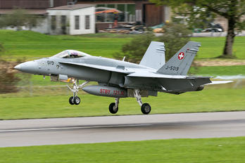 J-5019 - Switzerland - Air Force McDonnell Douglas F-18C Hornet