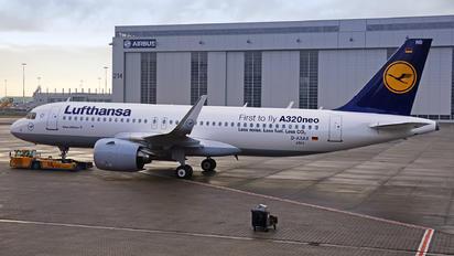 D-AXAX - Lufthansa Airbus A320 NEO