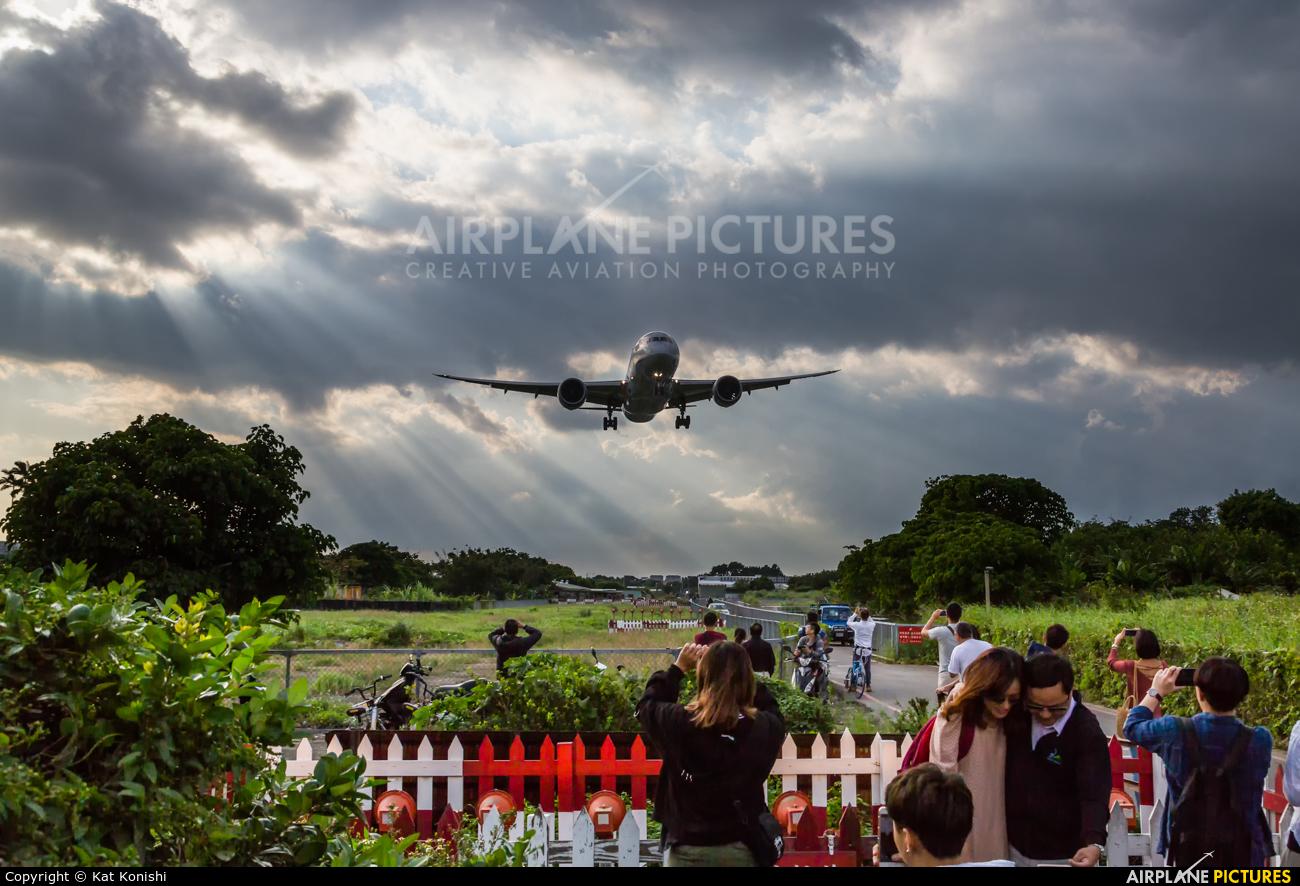 ANA - All Nippon Airways JA803A aircraft at Taipei Sung Shan/Songshan Airport
