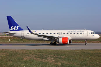 LN-RGO - SAS - Scandinavian Airlines Airbus A320 NEO