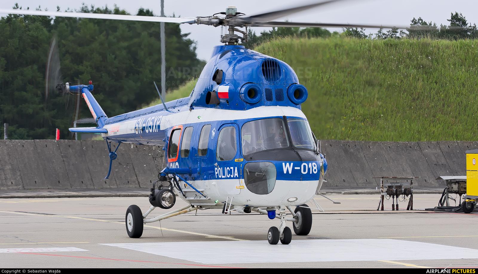 Poland - Police SN-05XP aircraft at Świdwin