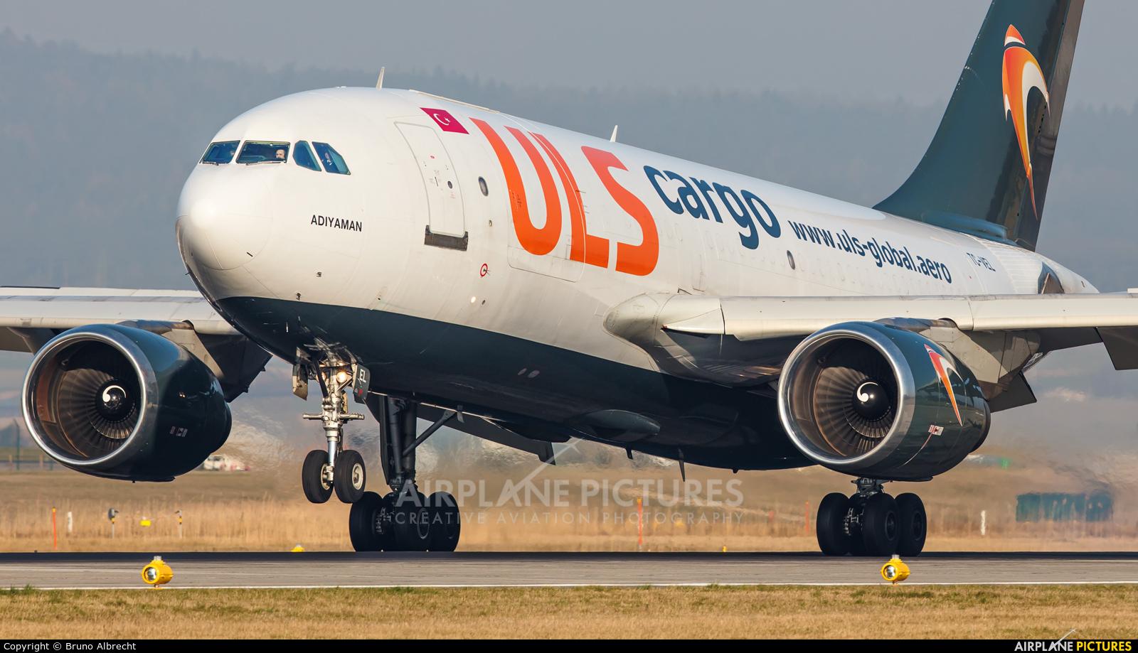 ULS Cargo TC-VEL aircraft at Zurich