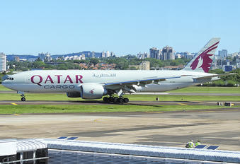 A7-BFL - Qatar Airways Cargo Boeing 777F