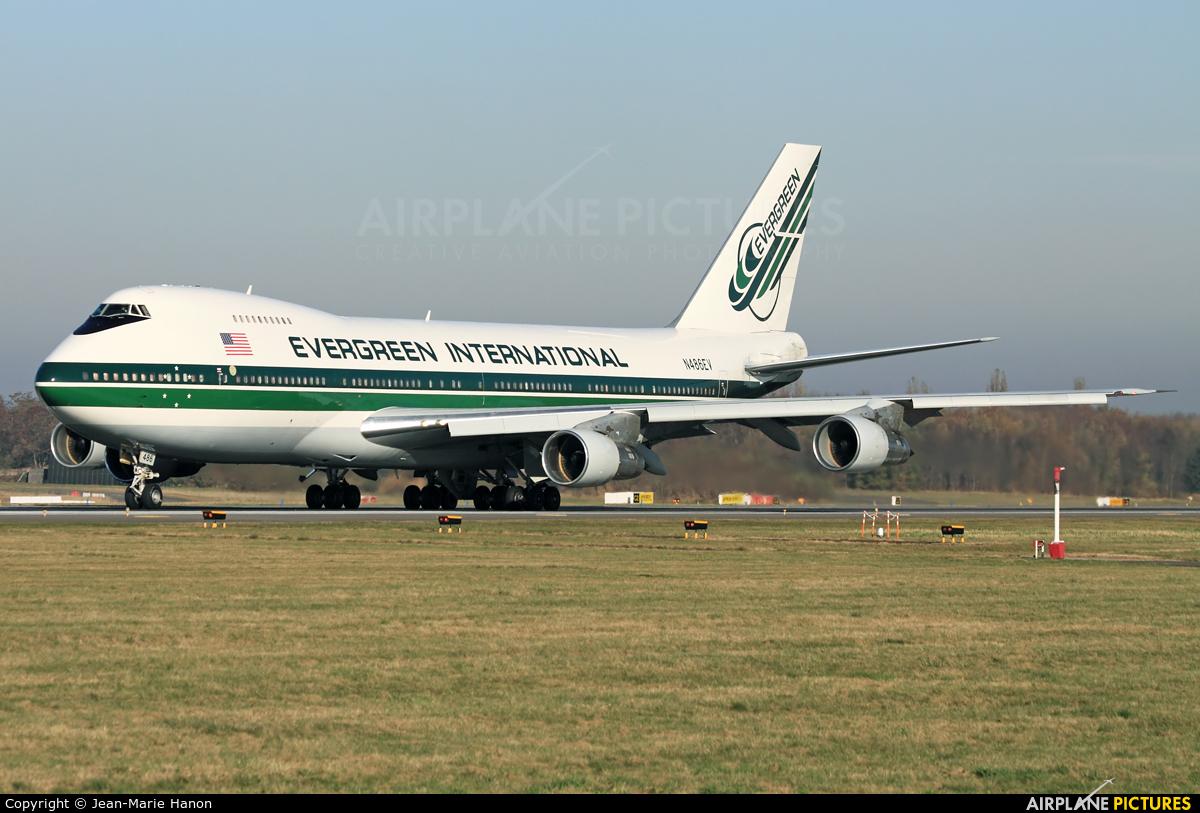 Evergreen International N486EV aircraft at Liège-Bierset