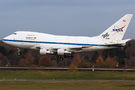 NASA Boeing 747SP arrived to Hamburg for maintenance